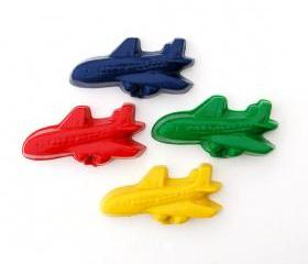 Custom Order for gennabfarber - 20 Sets of Airplane Crayons
